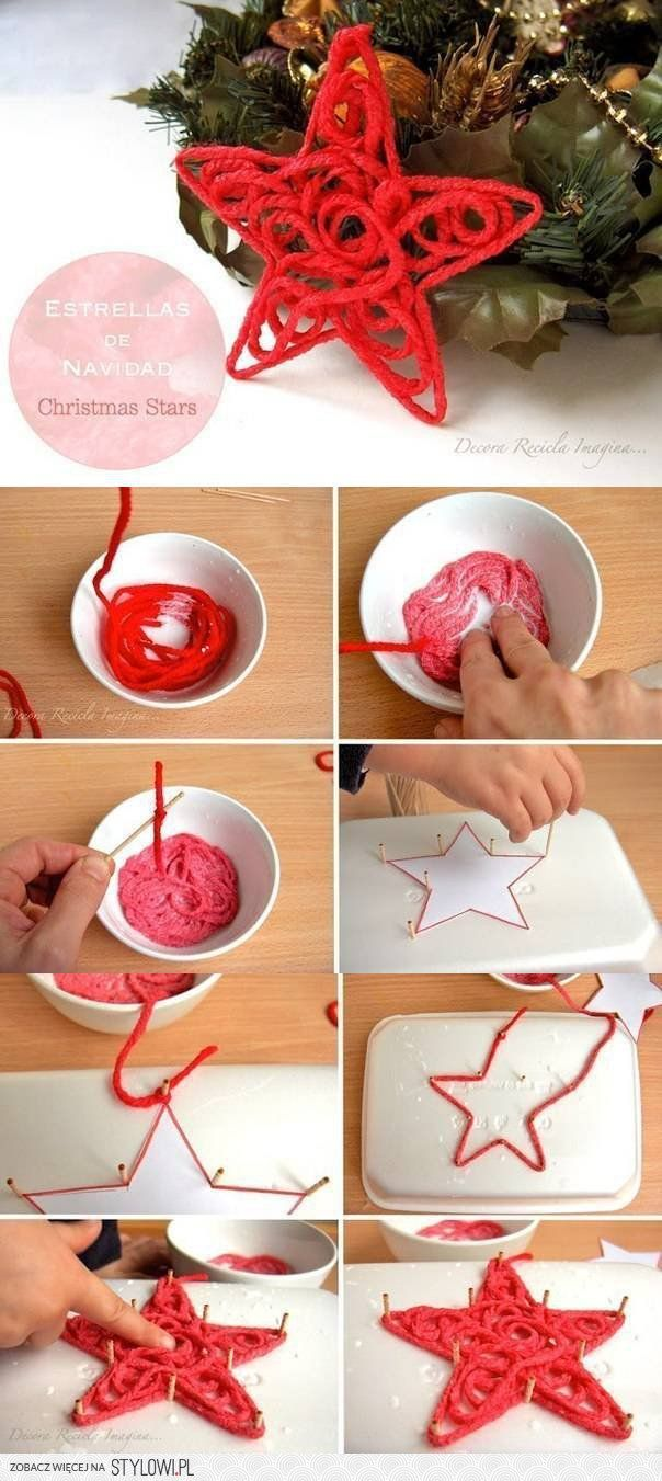 DIY Christmas Star DIY Projects | UsefulDIY.com na Stylowi.pl