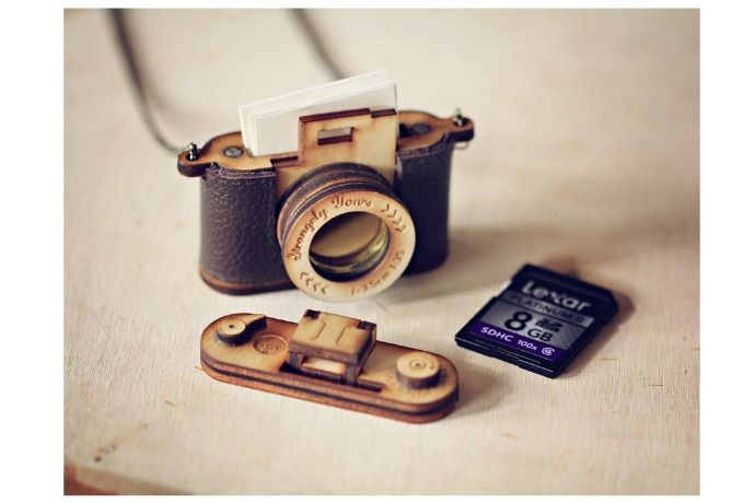 Coolest gifts for photographers: custom camera locket on @etsy