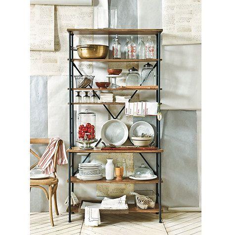 Sonoma Bookcase. Bakers RackBallard DesignsDream ... - 13 Best Shelves Images On Pinterest