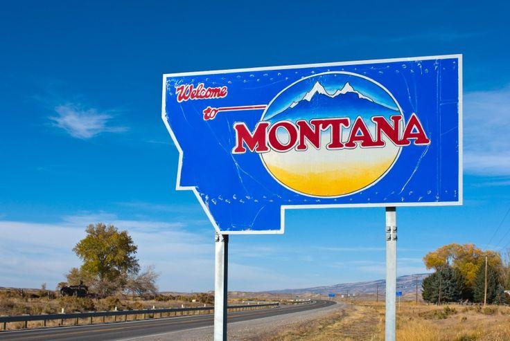 montana: God's big sky country.