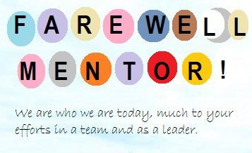 Farewell Message for Mentor | What to say in Goodbye card or Speech