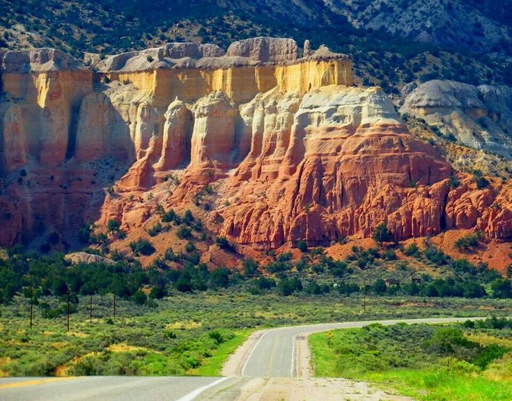 Ghost Ranch highway New Mexico... just up the road :@ )