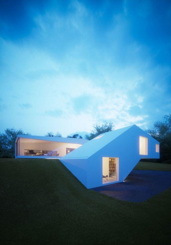 Glass House impressiona com soluções de design incomuns   – Architektur