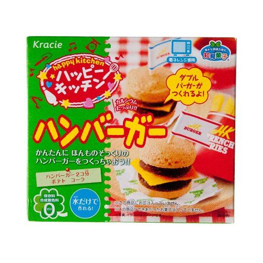 Hamburger Popin' Cookin' kit DIY candy by Kracie - $4.58