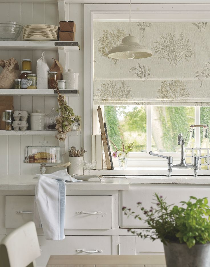 Freshwater Bay / AW 2014 / Laura Ashley / Home Collection blind for sash window