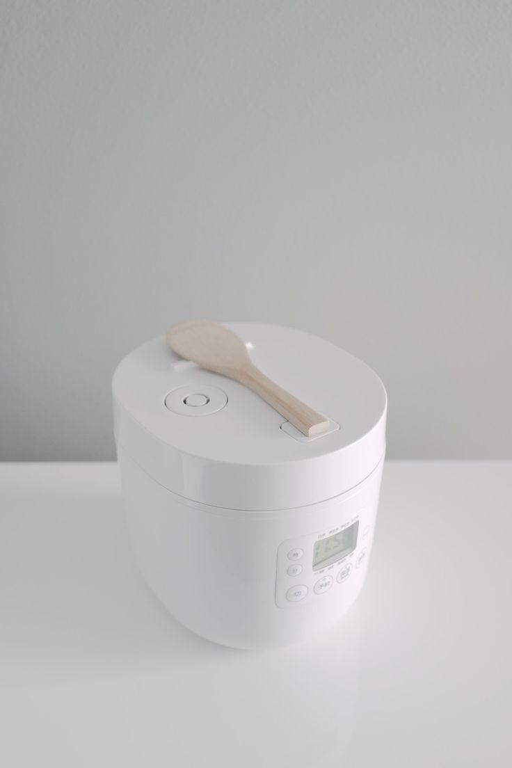 *-* juste ce qu'il me faut Muji Rice Cooker by Naoto Fukasawa — Minimally Minimal