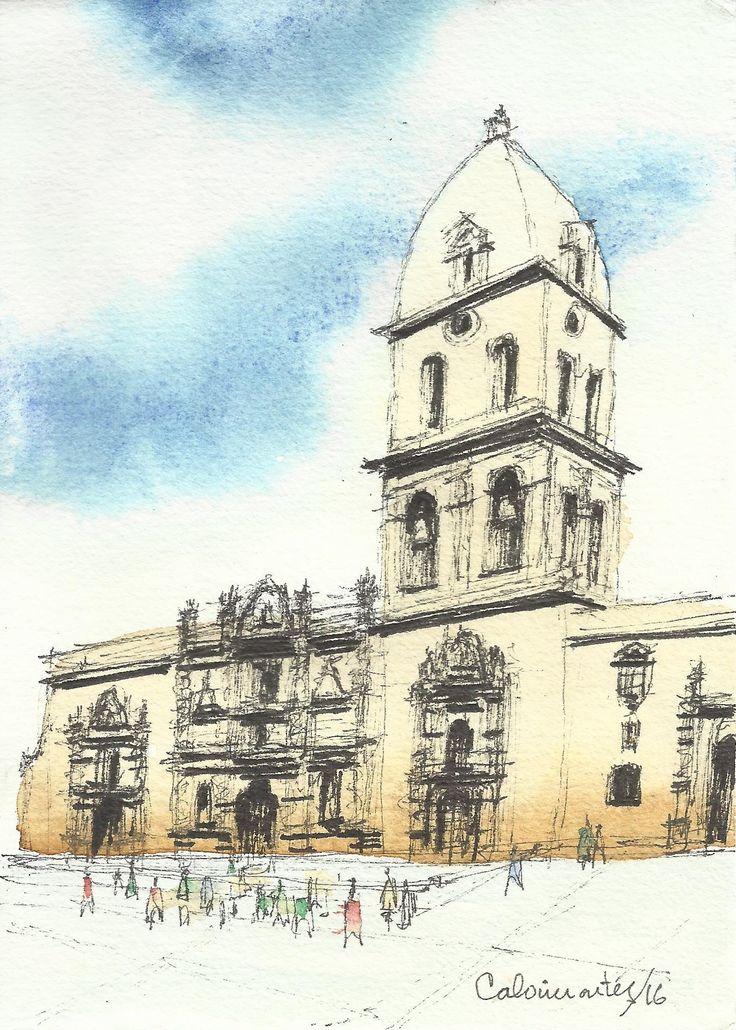 Basílica de San Francisco (2) La Paz - Bolivia Carlos Calvimontes Rojas