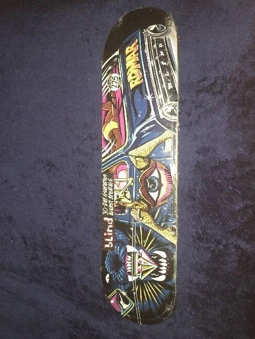 Romar Blind Skateboard Deck 7.75