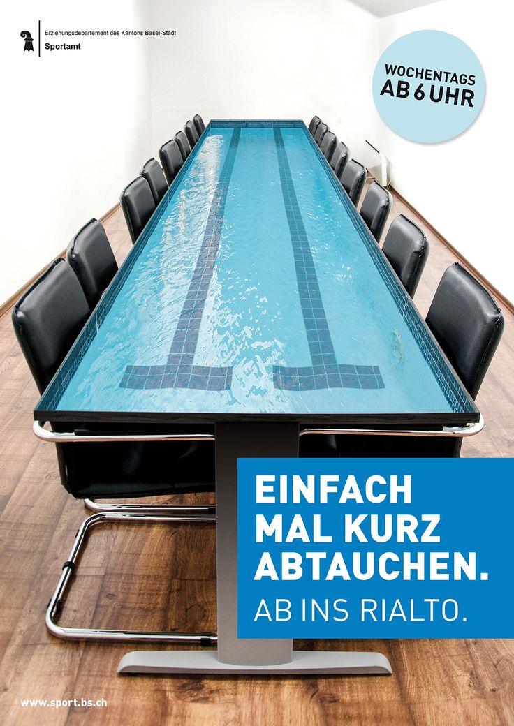 Werbekampagne Rialto Basel