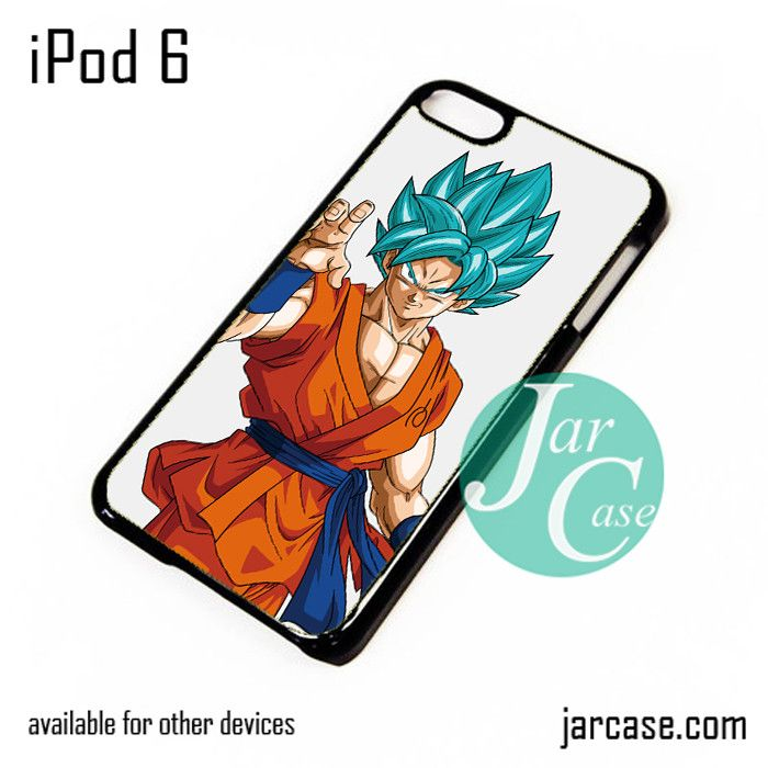 Dragonball Z Son Goku saiyan Blue 1 iPod Case For iPod 5 and iPod 6