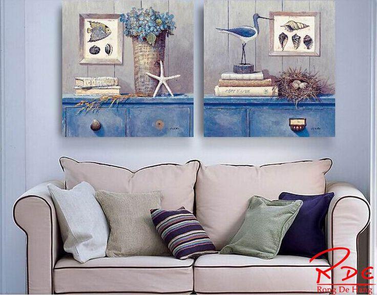 Mediterranean Style Led Canvas Art