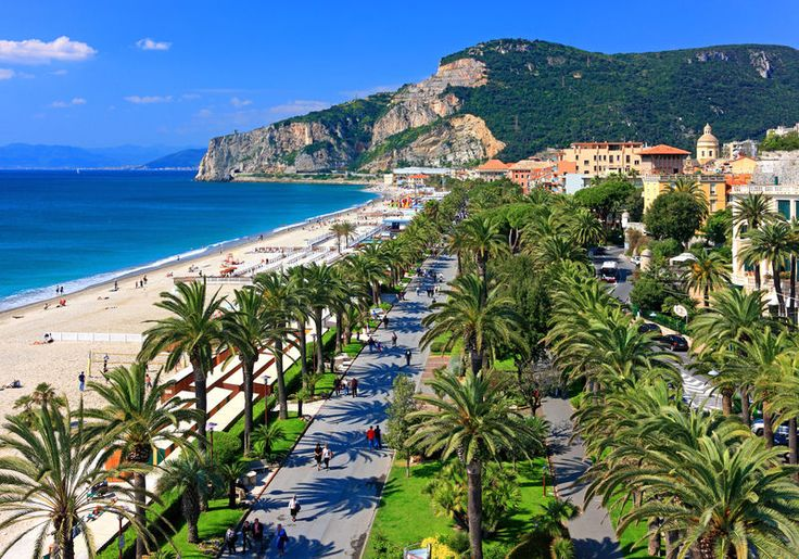 Literally jumped off the train and found this place. Finale Ligure....I would love to go back here