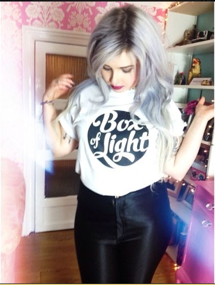 really want one of her band t-shirts!