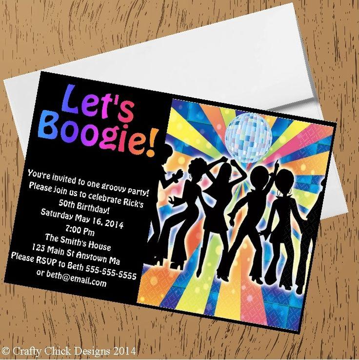 37 beste afbeeldingen over Party 70s op Pinterest Stemming – 70s Party Invitations