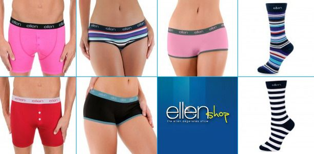 Model a pair of Ellens underwear because I love her