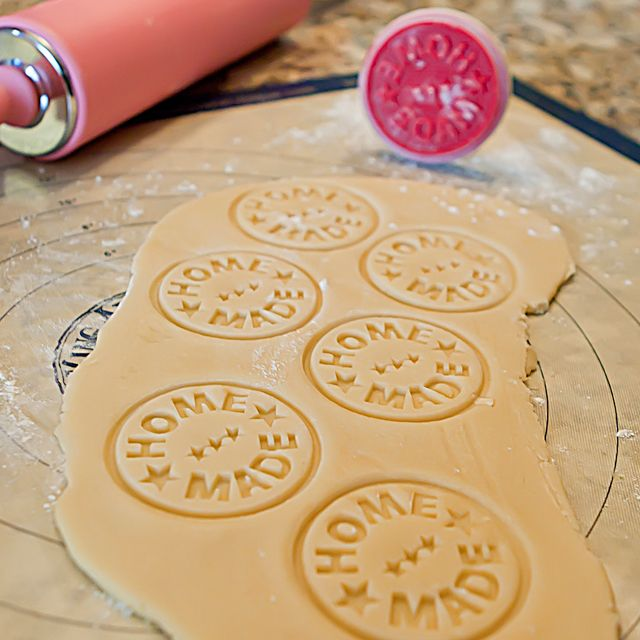 """Home Made"" cookie stamper"