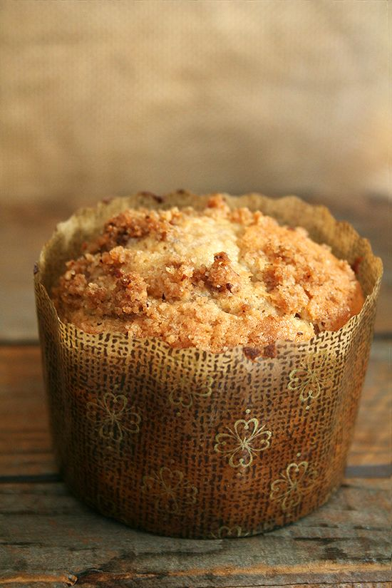 Sour Cream Cinnamon Streusel Muffins With Pecan Filling Recipes ...