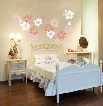 Wall Sticker HIBISCUS by Sticky!!!
