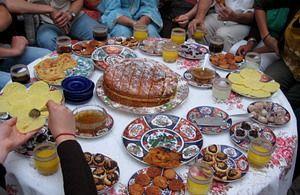 Delicious Moroccan feast