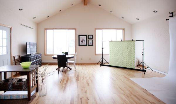 estúdio fotográfico em casa espaçoso