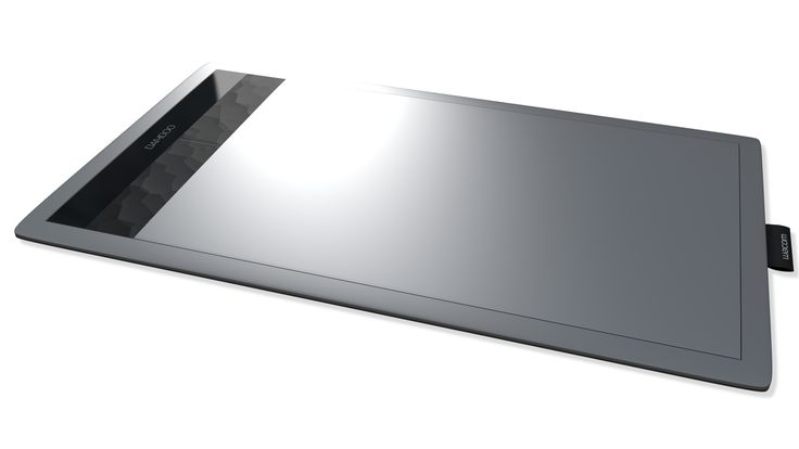 S Wacom Bamboo Create Tablet - 3D Model