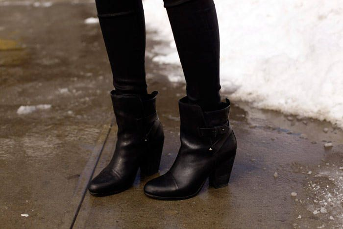 New York: Just Keeping It Casual ( Booties & Ankle boots )