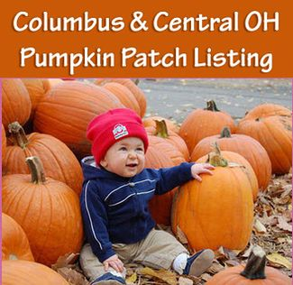2013 list of Columbus & Central Ohio Pumpkin Patches for lots of fall family fun. Listed by county, it includes all the details on what the farms offer, when they are open, where they are, links to their websites, special festivals and our experiences at most of them.
