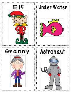 Cartões para alterar a voz durante a leitura ou nas contagens de números
