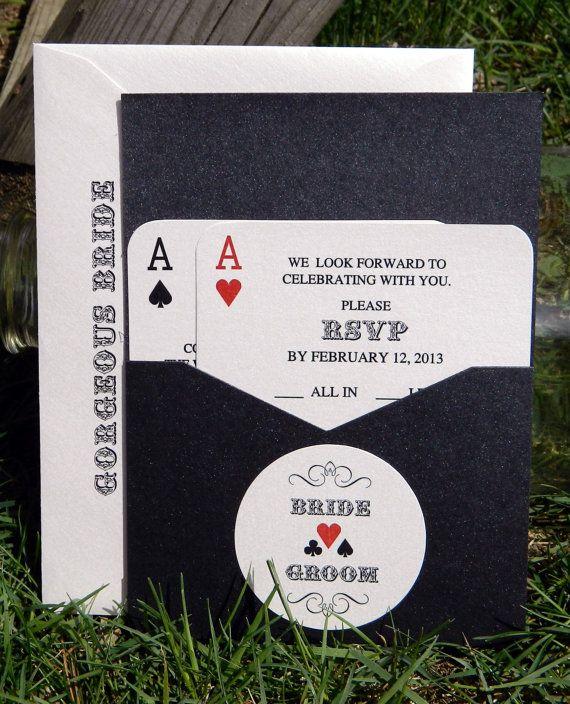 best 25+ vegas wedding invitations ideas on pinterest, Wedding invitations