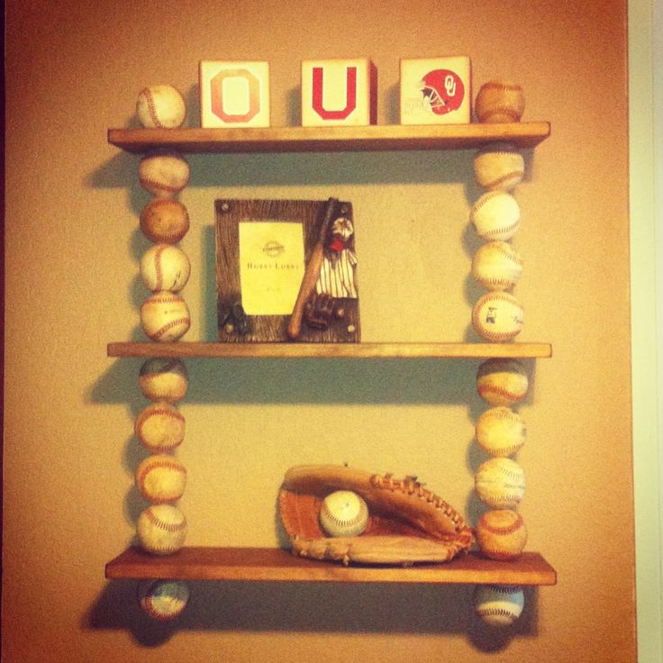 17 best ideas about baseball shelf on pinterest baseball