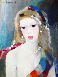 Portrait of a Woman - Marie Laurencin - The Athenaeum