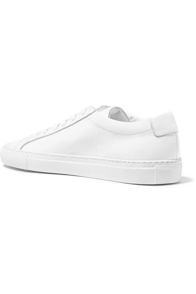 Common Projects - Original Achilles Leather Sneakers - White - IT