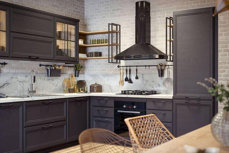landhausstil küche grau   haus küchen, landhausküche
