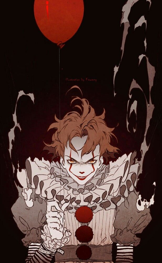 Pennywise. It  Credits to the artist