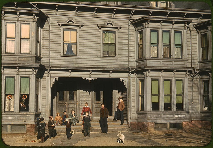 Color America: Photos, Color, Jack O'Connell, Children, Jack Delano, Tenement District, Library Of Congress