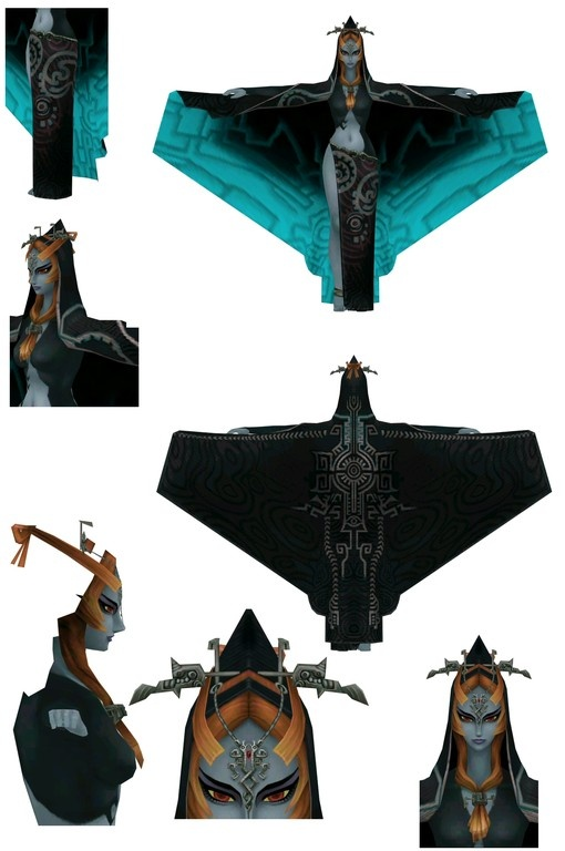 Midna cosplay detail