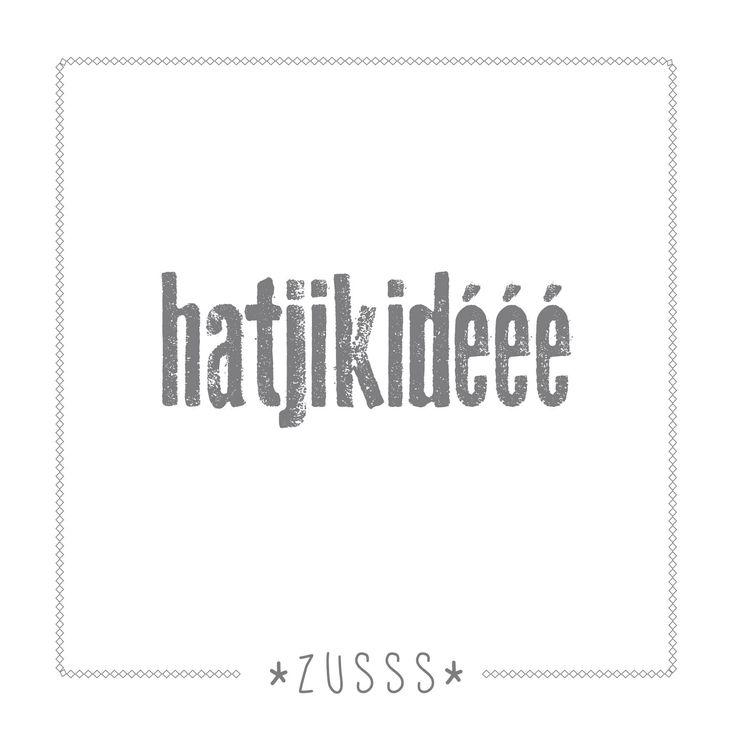 Zusss l hatjikidééé l www.zusss.nl