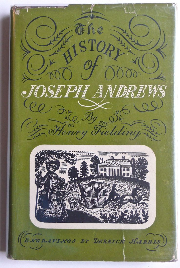 The History of Joseph Andrews by Henry Fielding