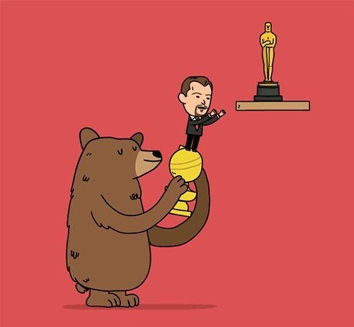 """""""Bear With Me, Leo, We're Almost There"""""""