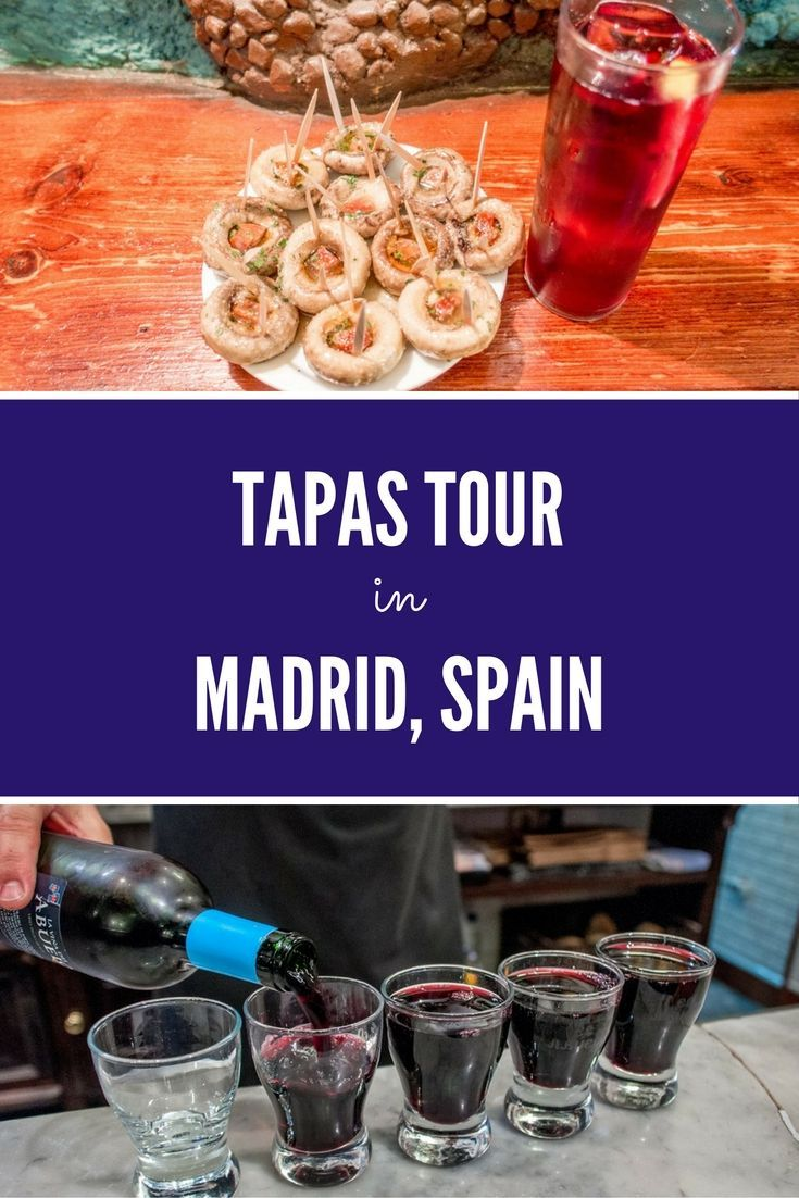 Taking a food tour in Madrid, Spain, is a great way to see the city and try an assortment of traditional tapas.