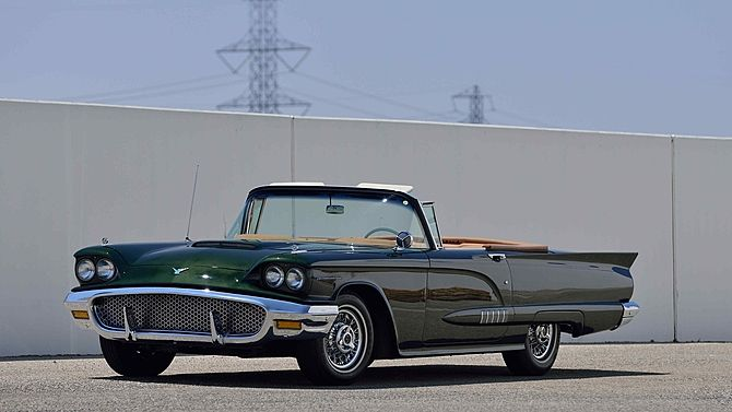 1958 Ford Thunderbird Convertible: