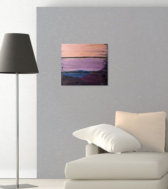 Wooden Sunset by AndreeaOArt on Etsy