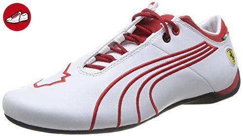 PUMA Ferrari Future Cat M1 Tifo 305298 A1 B, Herren Sneaker, Weiß (White), Gr. 42 EU (8 UK) - Puma schuhe (*Partner-Link)