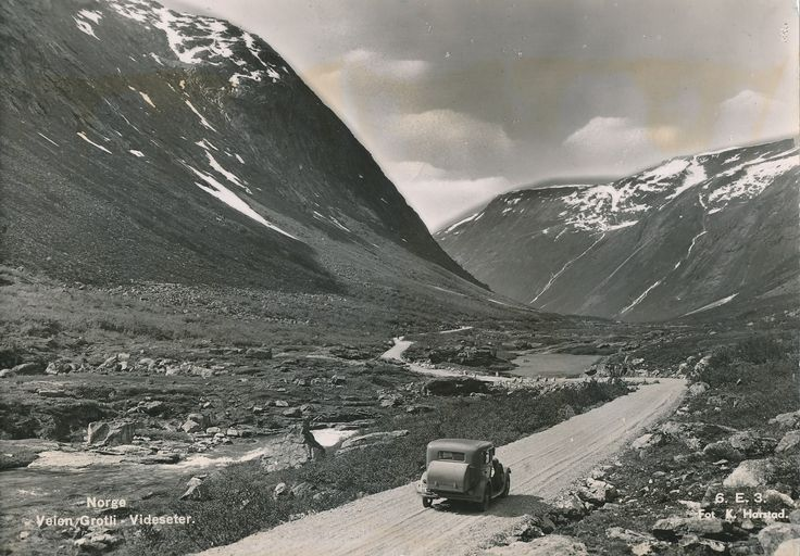 Grotli - Videseter  #history #svenkvia #norge #norway #car #grotli #videseter
