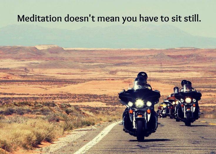 but on a bike it does mean you still must pay attention....every second