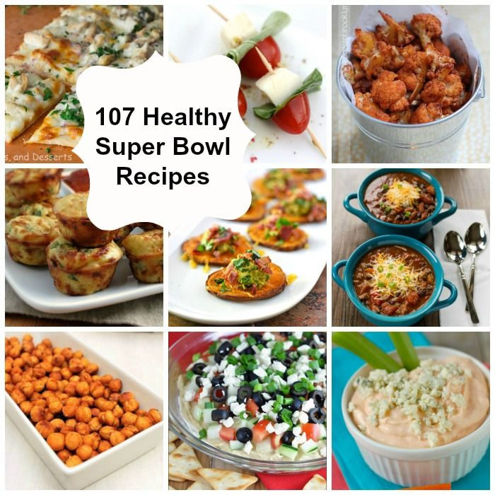 107 Healthy Super Bowl Recipes: perfect appetizers and dips for football season, tailgating and parties // A Cedar Spoon