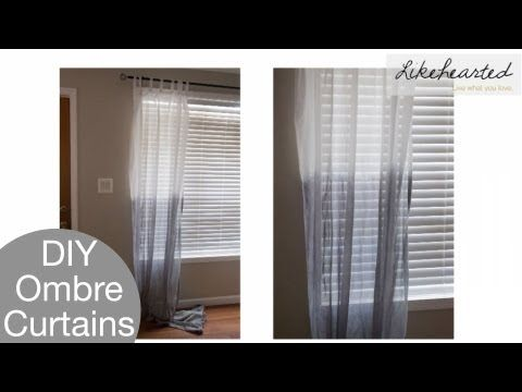 9 best dip dye gordijnen images on Pinterest | Ombre curtains, Dip ...