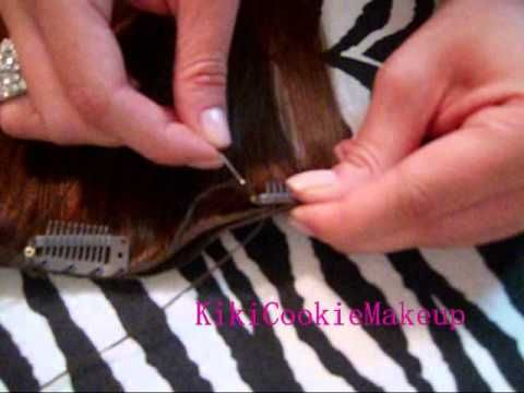 296 best extensiones i posticeria images on pinterest lace wigs this saved me so much money before my wedding i made my extensions myself solutioingenieria Choice Image