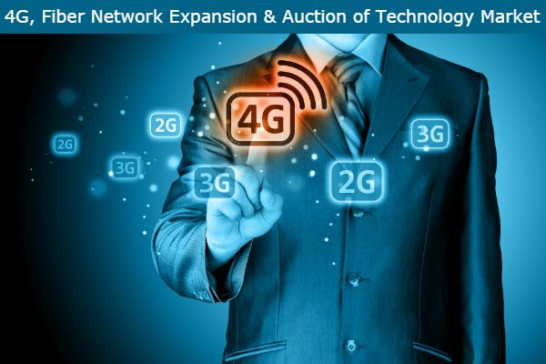 #4G, Fiber Network Expansion and Spectrum Auction to Drive Telecom Growth provides an executive-level overview of the telecommunications market in India today, with detailed forecasts of key indicators up to 2021.