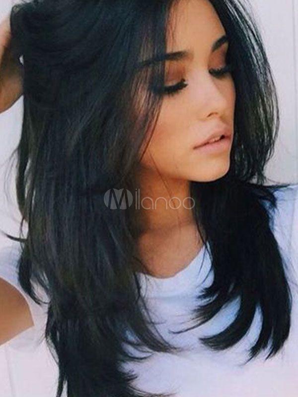 31+ Coiffure femme noire cheveux mi long des idees